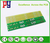 Transfer Single Sided Circuit Board , One Layer Pcb Molding 22F Fiberglass 1OZ Copper