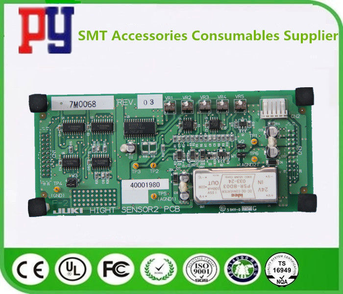 Hight Sensor 40001980 2 PCB Circuit Board ASM JUKI SMT Placement Equipment Applied