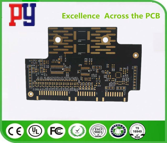 High Speed HF PCB Printed Circuit Board 4 Layer Quick Turn 1.2mm 2oz ENIG Surface