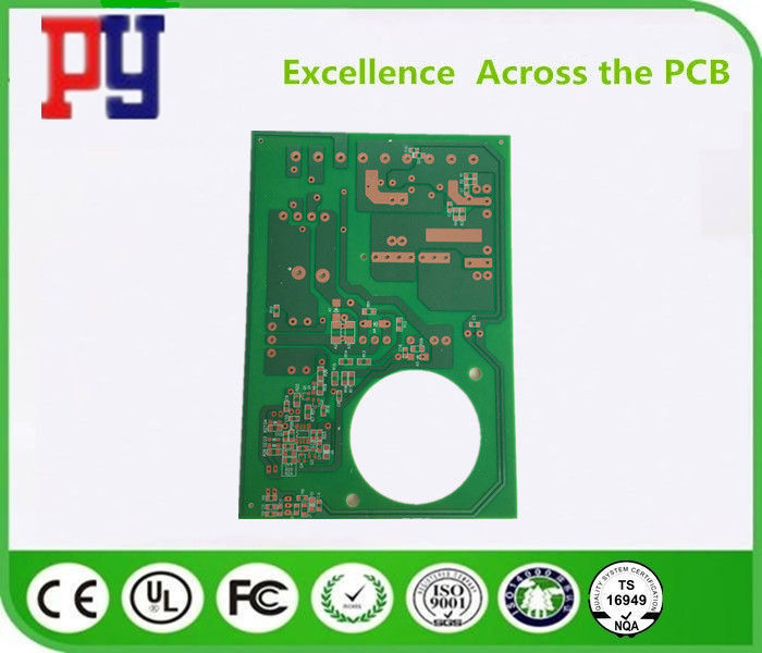 FR4 Material Single Sided Printed Circuit Board 1.6mm Surface Finish Osp Line Width 0.35mm