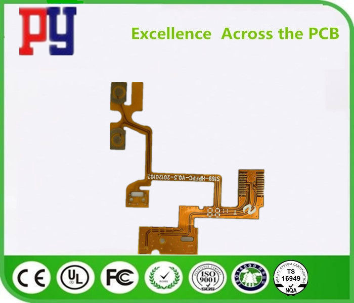 Copper Rigid Printed Circuit Boards , Flexible Pcb Prototype 5mil PET Material FPC