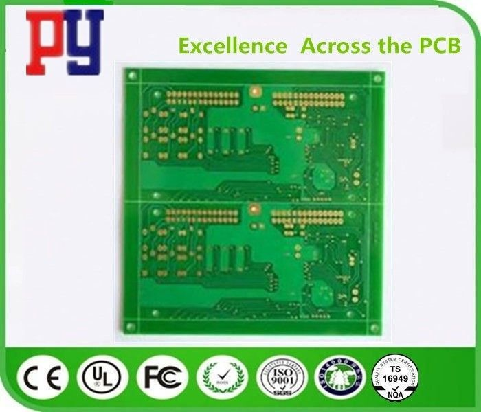 Lead Free Single Sided PCB Board , Printed Circuit Board PCB Assambly Green Solder Mask