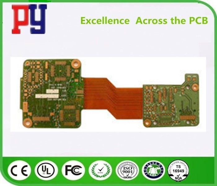 High Precision Rigid Flex Printed Circuit Boards 8 Layers Fr4 Base Material