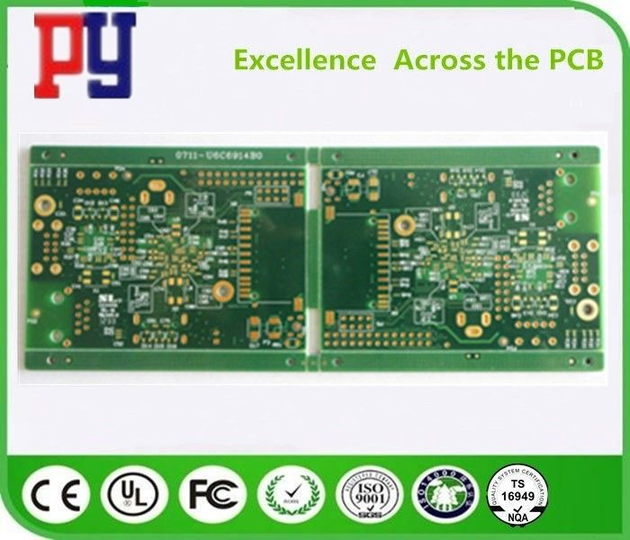 Green Solder Mask Multilayer PCB Circuit Board 8 Layer Fr4 1.6 1OZ Copper Thickness