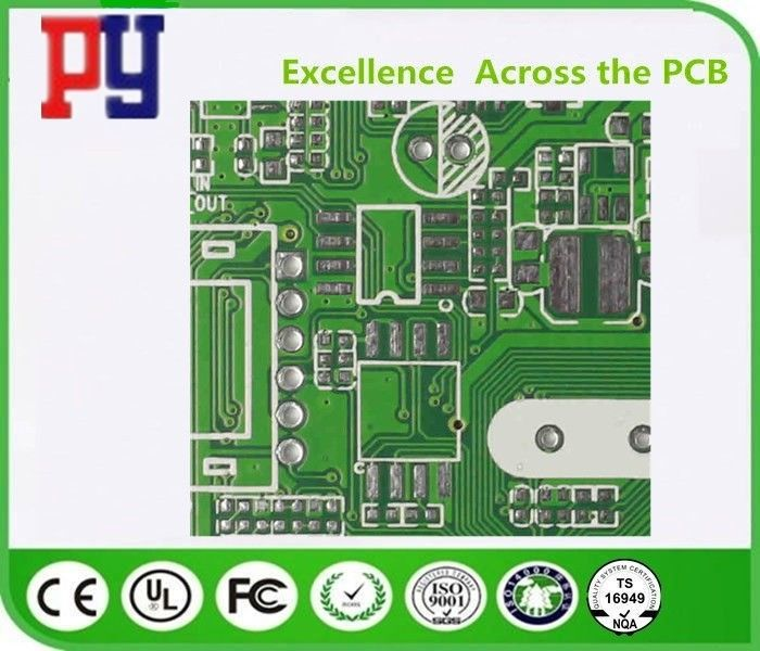 ISO9001 Double Sided Prototype Pcb 1.6MM Thickness Lead Free Surface Finishing